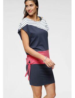 NU 21% KORTING: 2-in-1-jurk zomerse combinatie: jurk en shirt (2-delig)