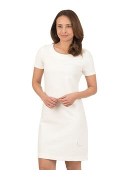Midi-jurk met swarovski®-kristallen
