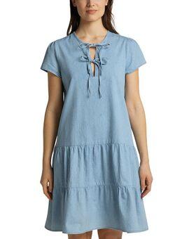 Midi-jurk Frida Denim Dress Denim-look