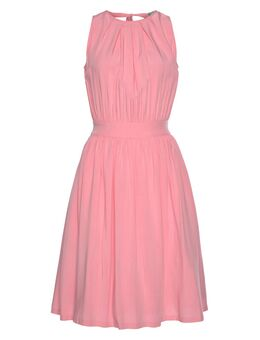 Midi-jurk met verleidelijk lage ruglijn