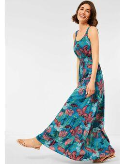 Maxi-jurk met tropische print
