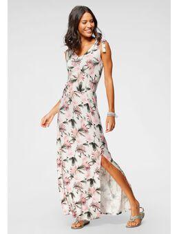 Maxi-jurk met linten