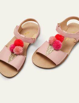 Novelty Leather Sandals Pink Lemonade Ice Cream Boden, Pink Lemonade Ice Cream