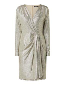 Kleid in Metallic-Optik Modell 'Lynna'