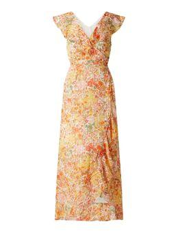 Wickelkleid mit Volants Modell 'Olga'