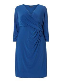 PLUS SIZE Kleid mit Drapierung