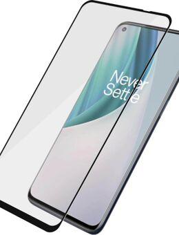 Case Friendly OnePlus Nord N10 Screenprotector Glas Zwart