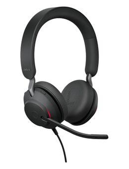 Evolve2 40 UC Stereo USB-A Headset Zwart