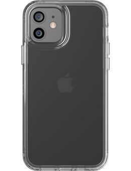 Evo Clear Apple iPhone 12 / 12 Pro Back Cover Transparant