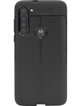 Soft Design Motorola Moto G8 Power Back Cover Zwart