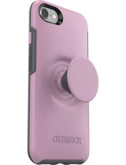 Otter + Pop Symmetry Apple iPhone SE 2 / 8 / 7 / 6s / 6 Back Cover Roze