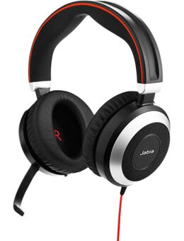 Evolve 80 UC Stereo Bedrade Office Headset