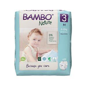 Bambo Nature Luier - Midi - maat 3 28 stuks