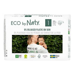 Naty Luiers: Maat 1 Newborn 2-5 kg 25 stuks