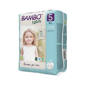 Bambo Nature Luier - Junior - maat 5 22 stuks