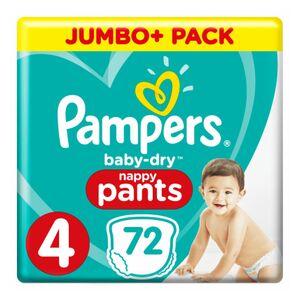 Luierbroekjes Baby Dry Pants Maat 4 72 Stuks
