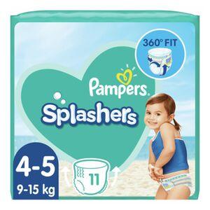8x Splashers Zwemluiers Maat 4-5 (9-15 kg) 11 stuks