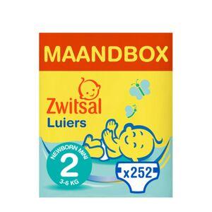 Luiers Mini Maat 2 Maandbox 252 stuks