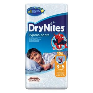 Drynites luiers boy 3-5 jaar 10 stuks
