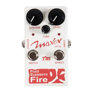 FF10 Fuzz Elements Fire fuzz effectpedaal