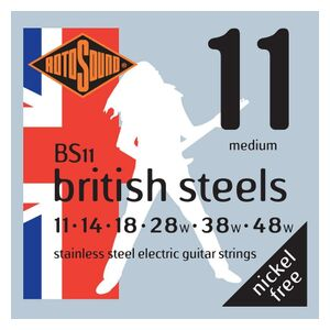 BS11 British Steels set elektrische snaren 011-048w