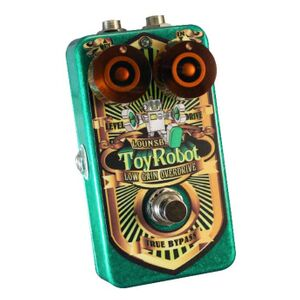 TRO-1 Toy Robot analoge FET low gain overdrive