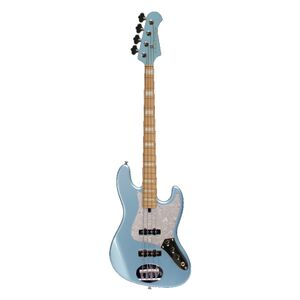 Skyline 44-60 Custom Ice Blue Metallic Maple Fingerboard elektrische basgitaar