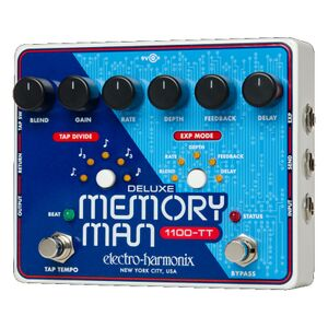 Deluxe Memory Man Tap Tempo 1100ms delaypedaal