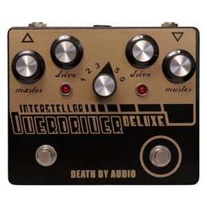 Interstellar Overdriver Deluxe overdrive / fuzz
