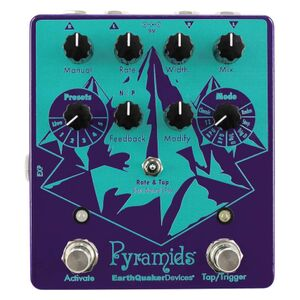 Pyramids Stereo Flanging Device effectpedaal