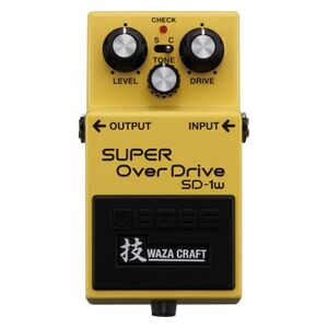 SD-1W Super Overdrive Waza Craft Special Edition