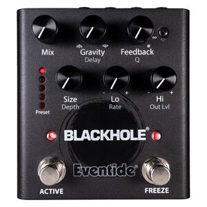 Blackhole reverb effectpedaal