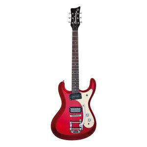 64 Metallic Red elektrische gitaar