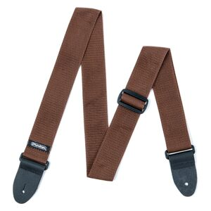 D07-01BR Poly Strap Brown gitaarband