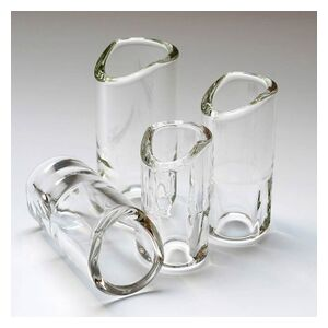 Moulded Glass Slide L