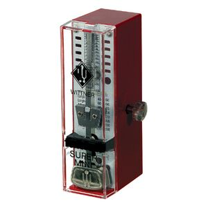 884051 Taktell Super-mini metronoom robijnrood