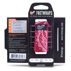 Fretwraps 1-pack LG Bandana rood