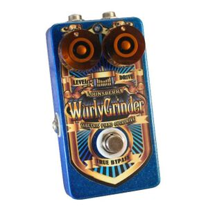 WGO-1 Wurly Grinder analoge preamp / overdrive