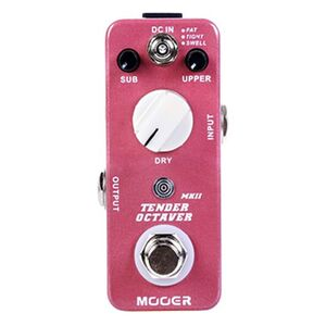 Tender Octaver MKII pitch shift effectpedaal