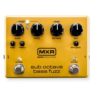 M287 Sub Octave Bass Fuzz effectpedaal