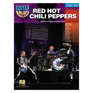 Red Hot Chili Peppers - Guitar Play-Along Volume 153