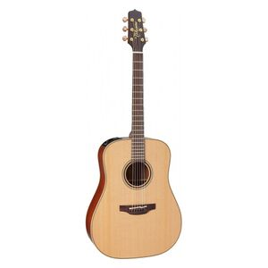 P3D elektrisch-akoestische western gitaar naturel
