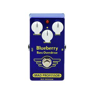 Blueberry Bass Overdrive Factory effectpedaal