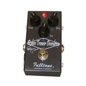 Robin Trower Overdrive stompbox