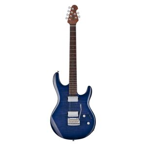 LK100 Luke Blueberry Burst met gigbag