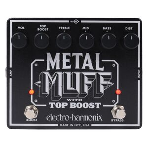 Metal Muff Top Boost distortion pedaal