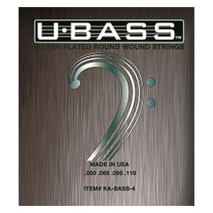 Metal Round Wound voor 4-snarige U-Bass
