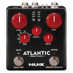 Atlantic Delay & Reverb stereo effectpedaal