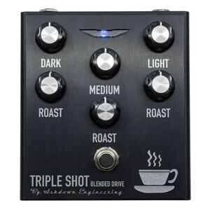 Triple Shot bas overdrive distortion pedaal