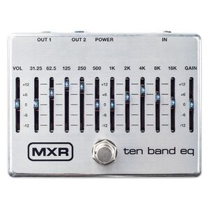 M108S Ten Band EQ equalizer effectpedaal
